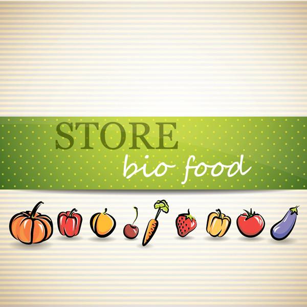 野菜メニューの表紙見本 vegetable menu background
