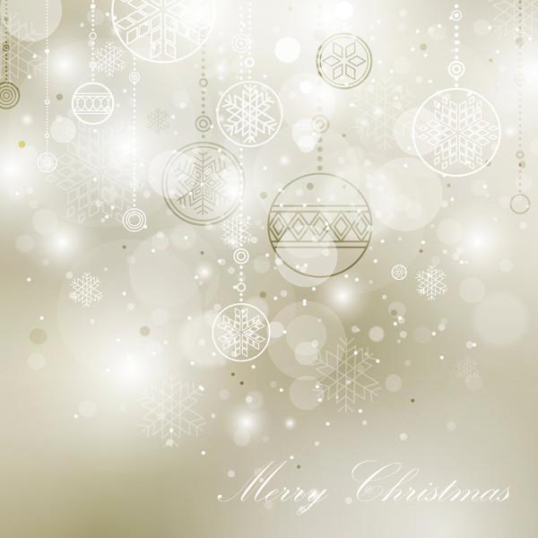 光で美しくぼやけたクリスマスボール beautiful christmas ball background2