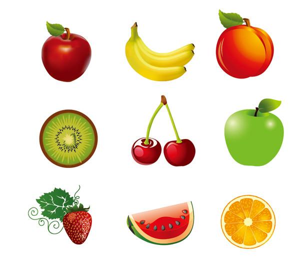 瑞々しい果物アイコン Juicy Fruit
