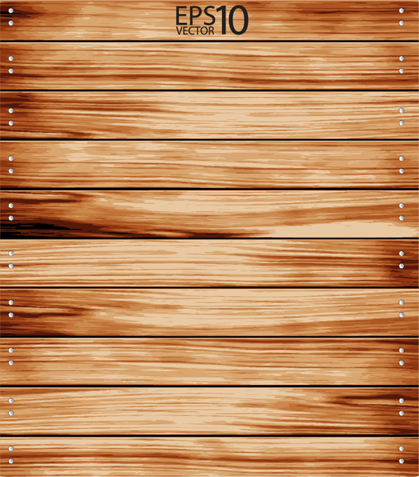 横板を釘で留めた背景 wood grain texture nails background