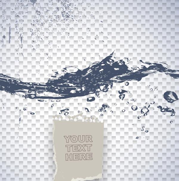 波打つ水面のテキストスペース Text space of rippling water surface