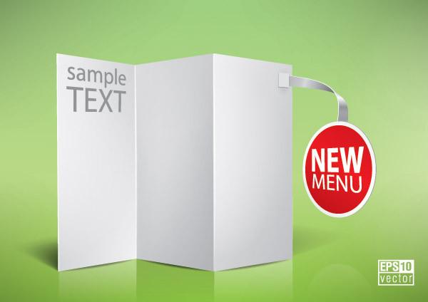 テキスト用に空白の展示パネル vector blank panels2