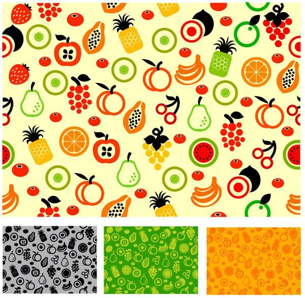 シームレスな果物パターン Seamless pattern fruit