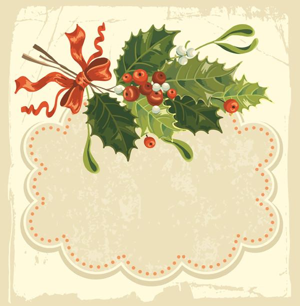 クリスマス樅の木のテキストフレーム beautiful christmas background