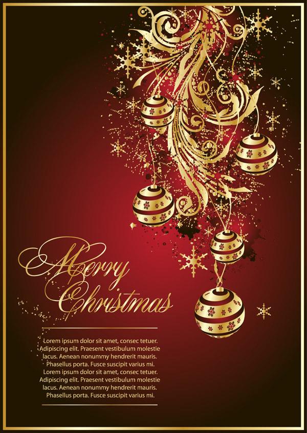 クリスマスの背景とディスカウント タグ gorgeous christmas vector1