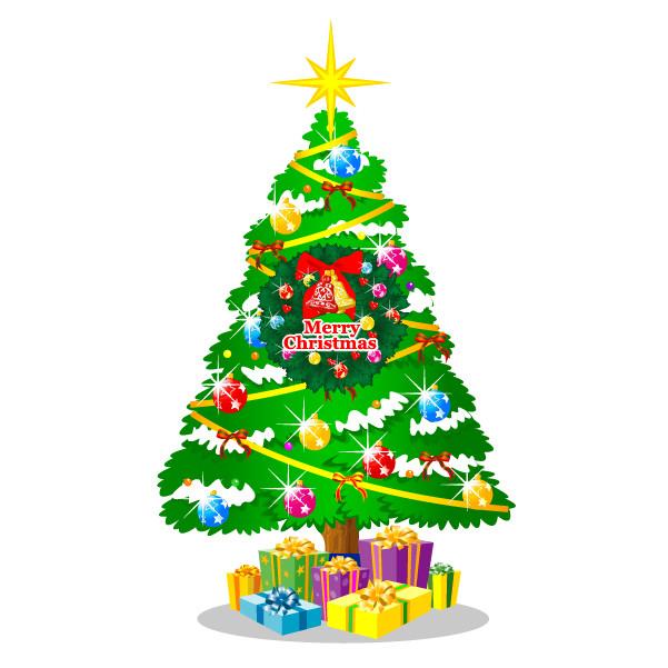 クリスマス素材のイラスト cartoon christmas element vector3