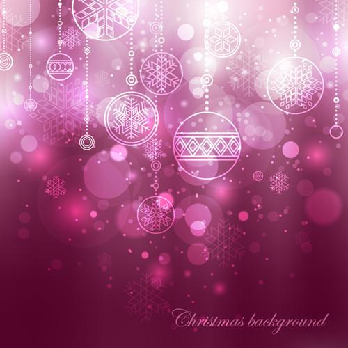光り輝くクリスマスの背景 dream christmas background2