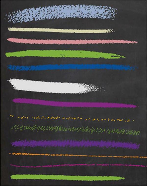 イラストレーター用チョーク ブラシ Chalk brushes for Adobe Illustrator