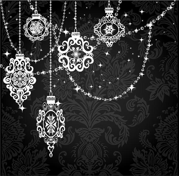 エレガントに輝くヴィンテージな修飾素材 bright silk vintage elegance ornaments