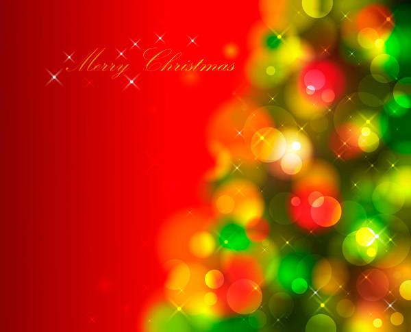 光で美しくぼやけたクリスマスボール beautiful christmas ball background5