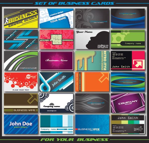 特徴的な名刺テンプレート special business card template