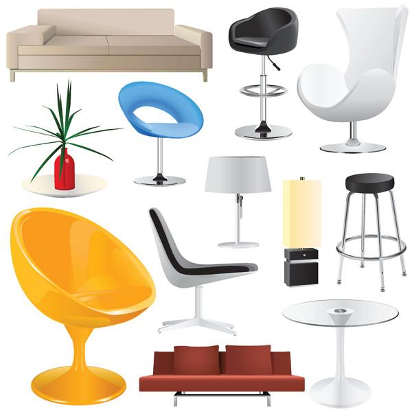 インテリア家具 home decoration vector2