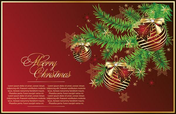 クリスマスの背景とディスカウント タグ gorgeous christmas vector2