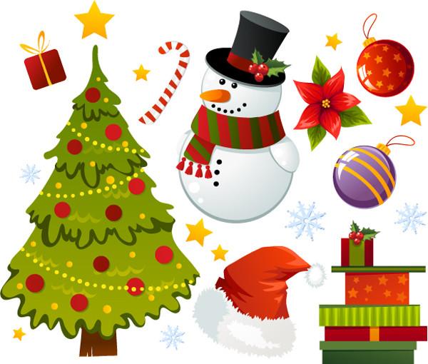 漫画風の美しいクリスマス飾り exquisite cartoon christmas ornaments1