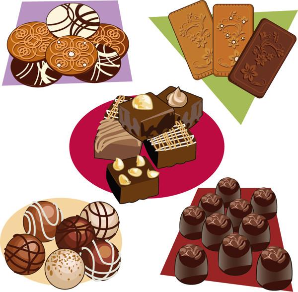 チョコレート クッキー ケーキ chocolate cookies and cakes