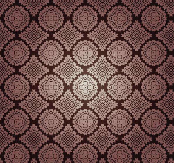 古典的なシームレス パターンの背景 beautiful shading pattern vector3