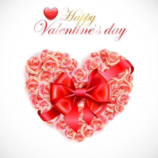 バレンタインデー ハート型のギフト箱 romantic valentine day heartshaped gift box3