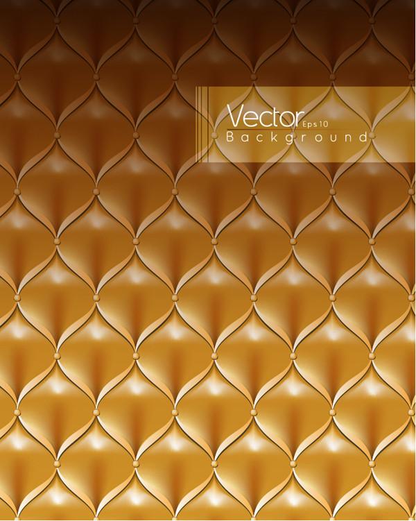 豪華な金色の革のテクスチャ luxurious golden furniture leather