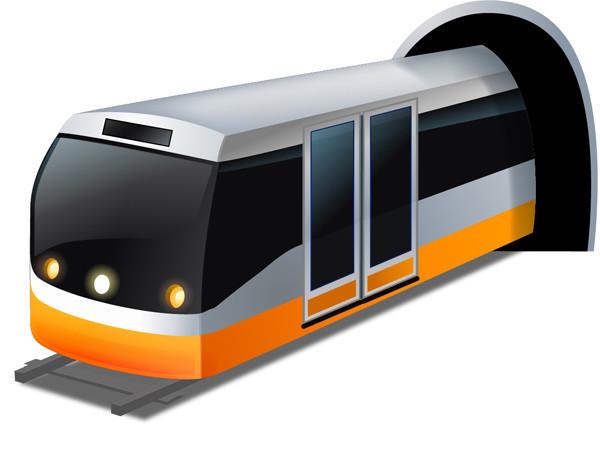 乗り物のクリップアート Transport Vector Icons1