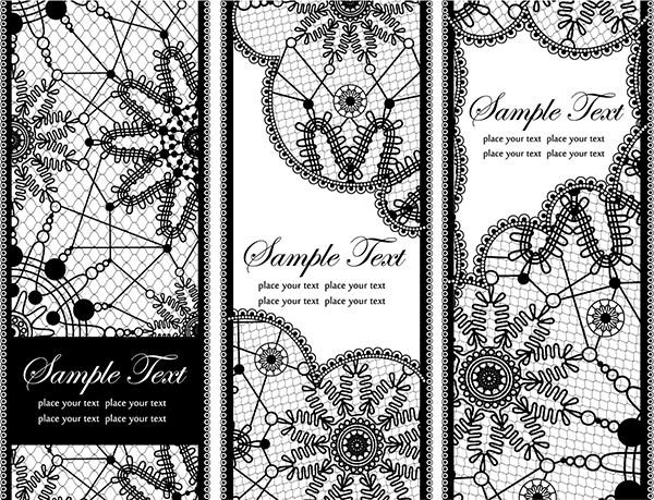 美しいレース織りの背景 lace pattern background
