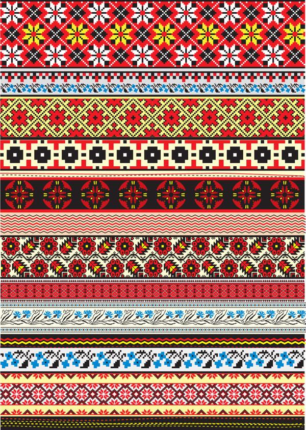 美しいクロスステッチのボーダー集 cross stitch patterns