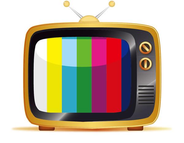 ブラウン管テレビのイラスト Old Tv Illustration