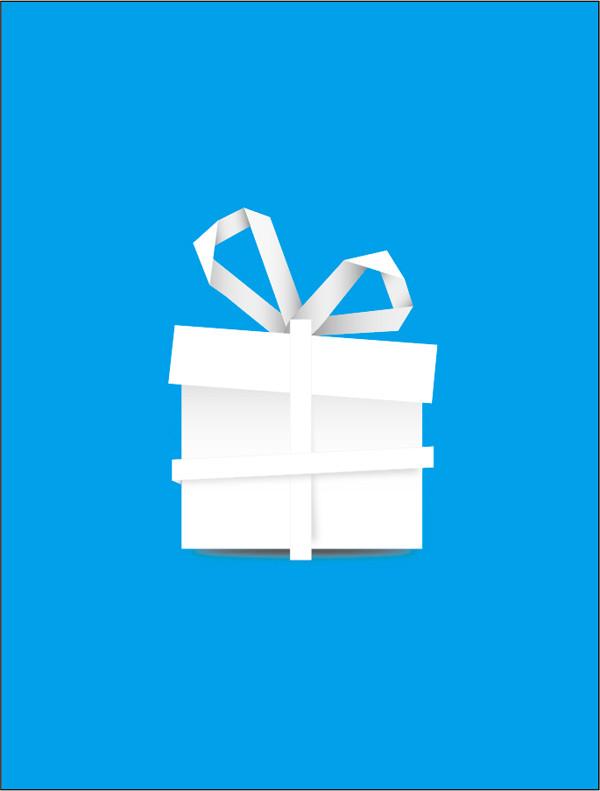 紙で折ったプレゼント箱 paper Gift Box