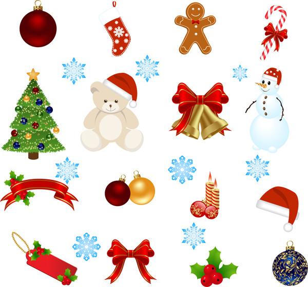 漫画風の美しいクリスマス飾り exquisite cartoon christmas ornaments2