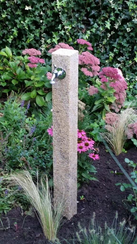 Wasserzapfs ulen standard wasserspeier brunnen garten - Wasserstelle im garten ...