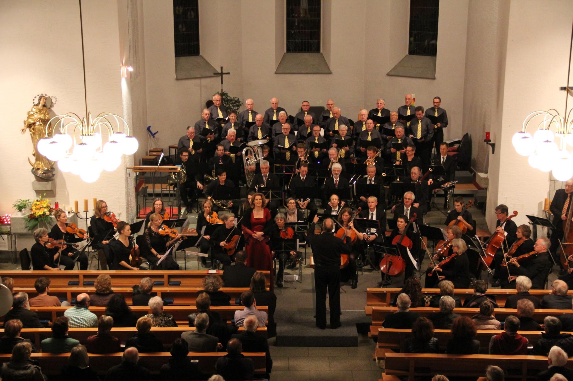 Verdi-Gala in Dottikon, November 2013