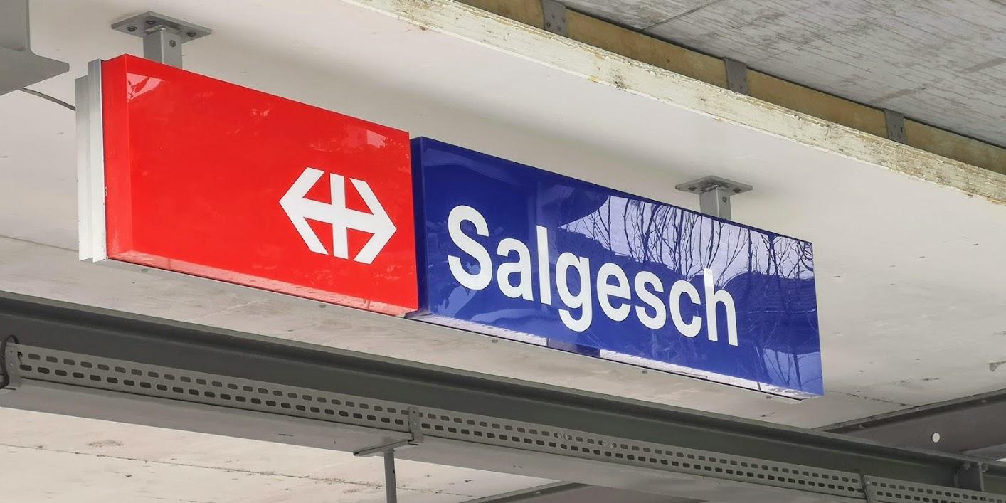 Ankunft Salgesch