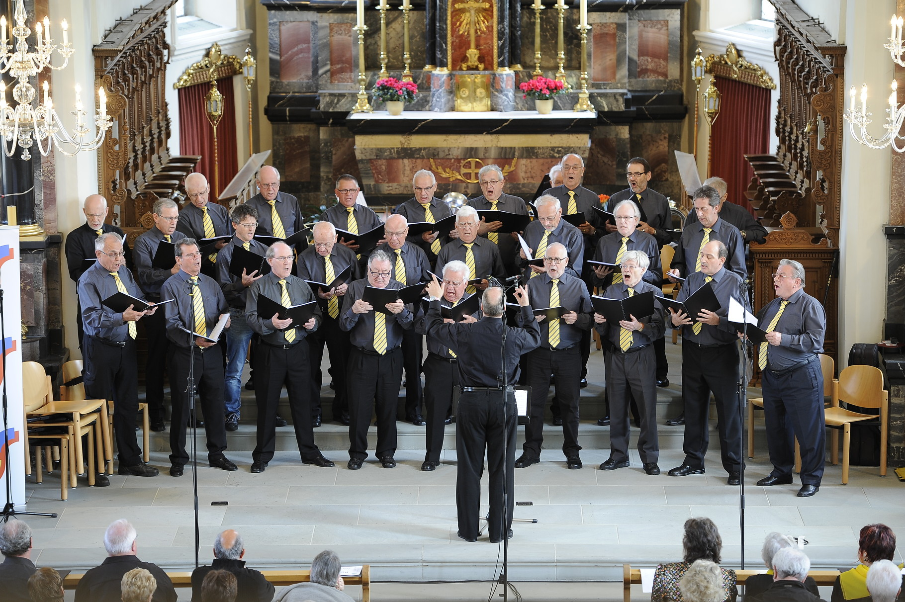 Konzert in Brunnen, April 2014