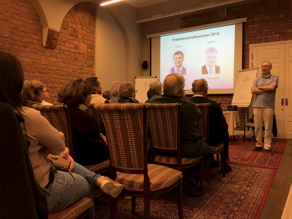Vortrag über die Ukraine heute mit dem Lemberger Journalisten Jurij Durkot