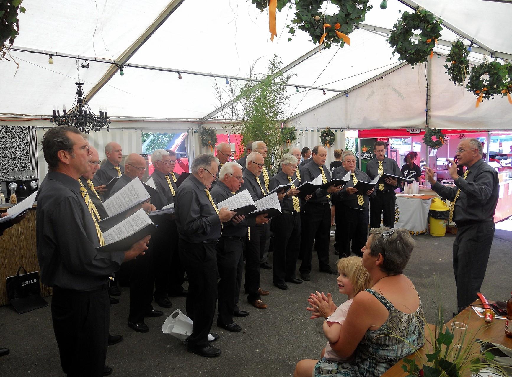 Rebblütenfest in Weiningen, Juni 2012