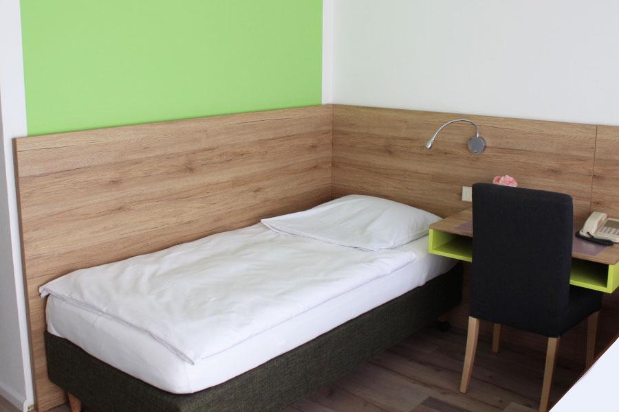 Beispiel Zweibettzimmer renoviert