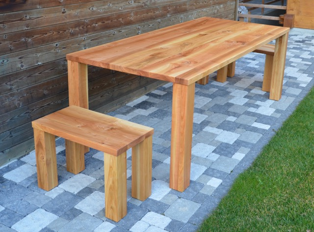 Esstisch mit Kundeneigenem Kirschbaumholz