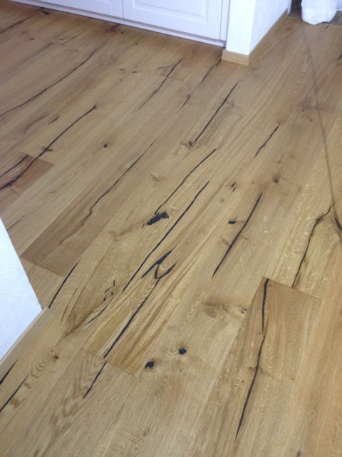 Eichenboden Altholzdesign