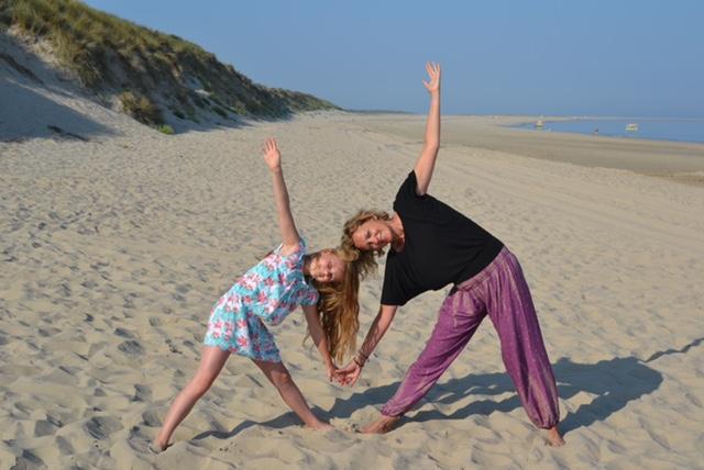 Yoga für und Kinder und Tweens