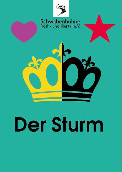 Plakat für das Sommerstück 2017 der Schwabenbühne Roth-u. Illerthal e.V.