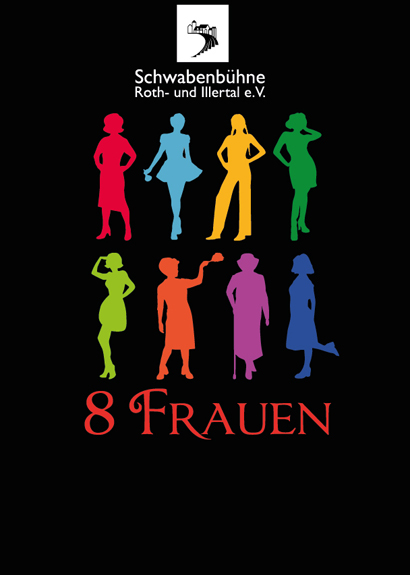 Plakat für dasWinterstück 2016 der Schwabenbühne Roth-u. Illerthal e.V.