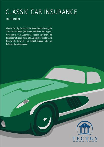 Cover für Imagebrochüre der Firma Tectus GmbH
