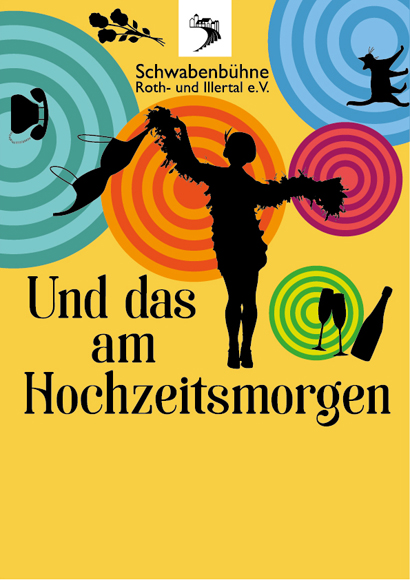 Plakat für dasWinterstück 2017 der Schwabenbühne Roth-u. Illerthal e.V.
