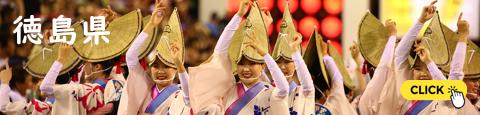 阿波踊り(日本三大盆踊り・四国三大祭り、徳島市)
