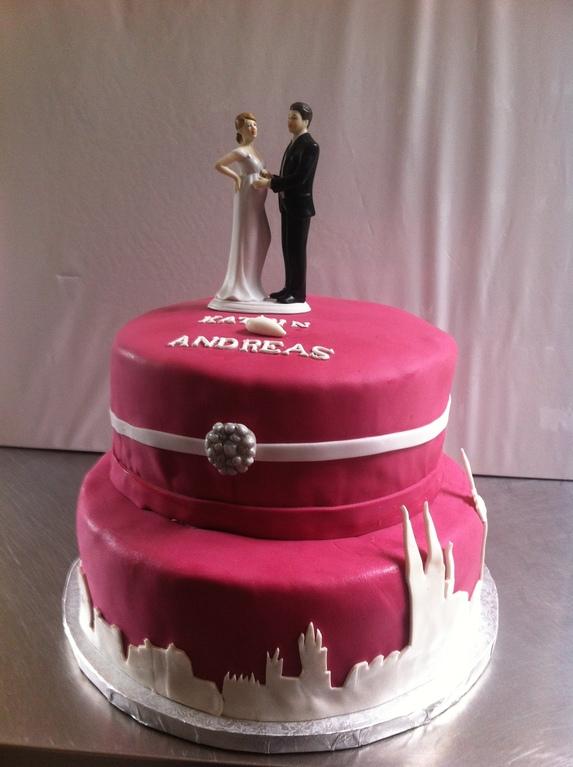 Hochzeitstorte für Kölner