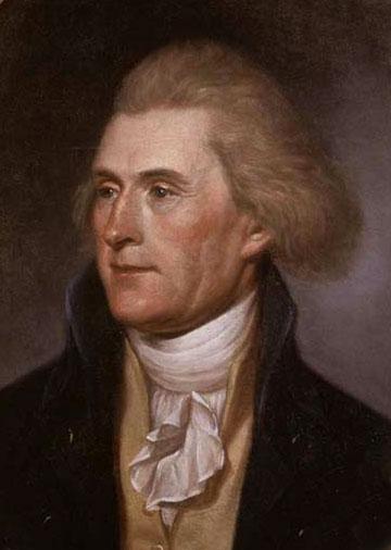 Document 5_ Jefferson en 1791 par Charles Willson Peale, Independence National Historical Park, Philadelphie