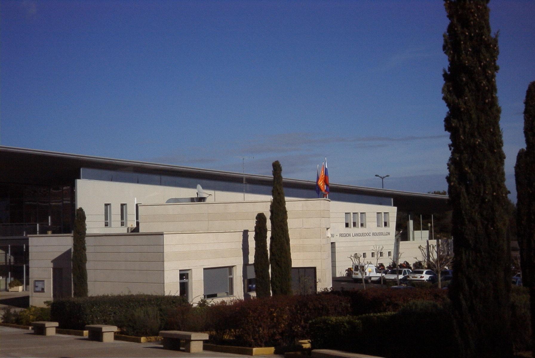 Le bâtiment administratif