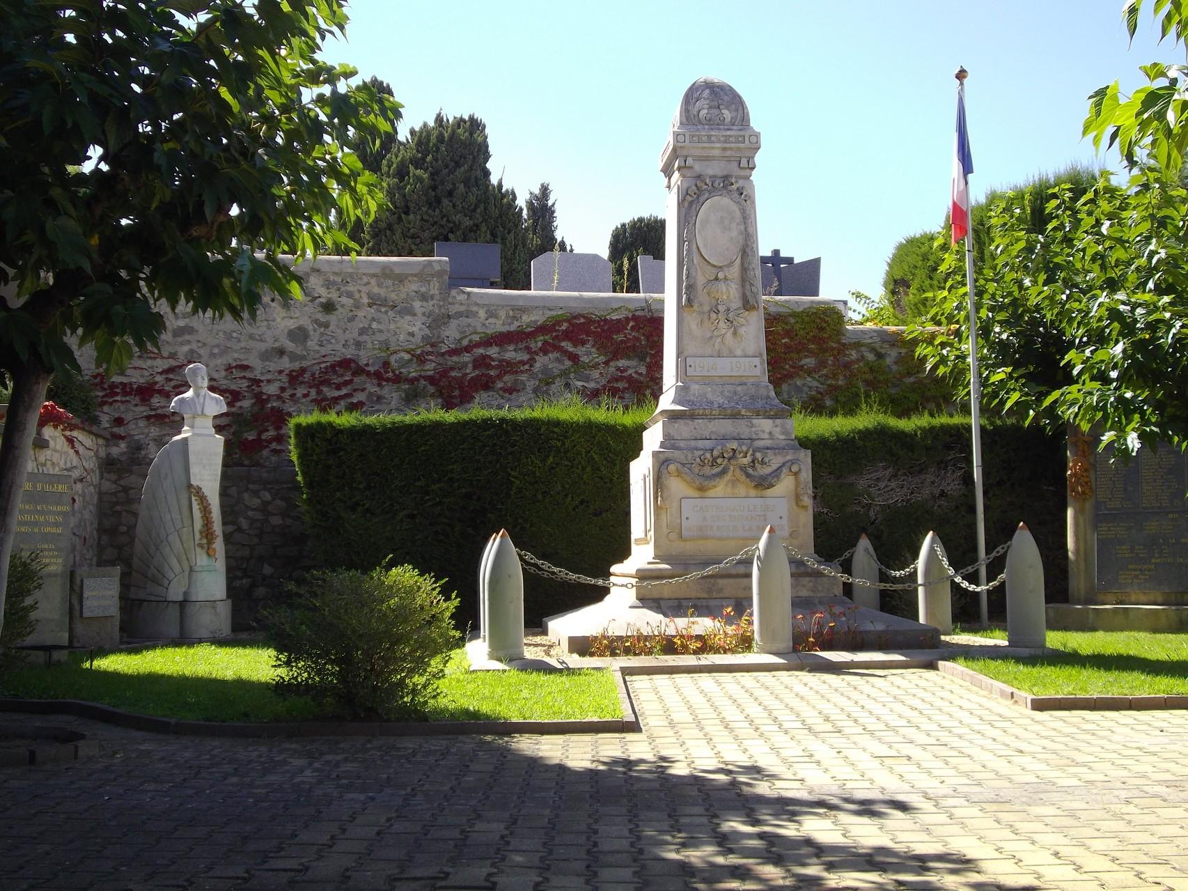 Monuments aux morts de Castelnau le Lez