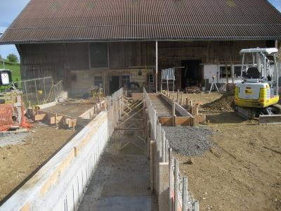 Neubau Schwemmkanäle