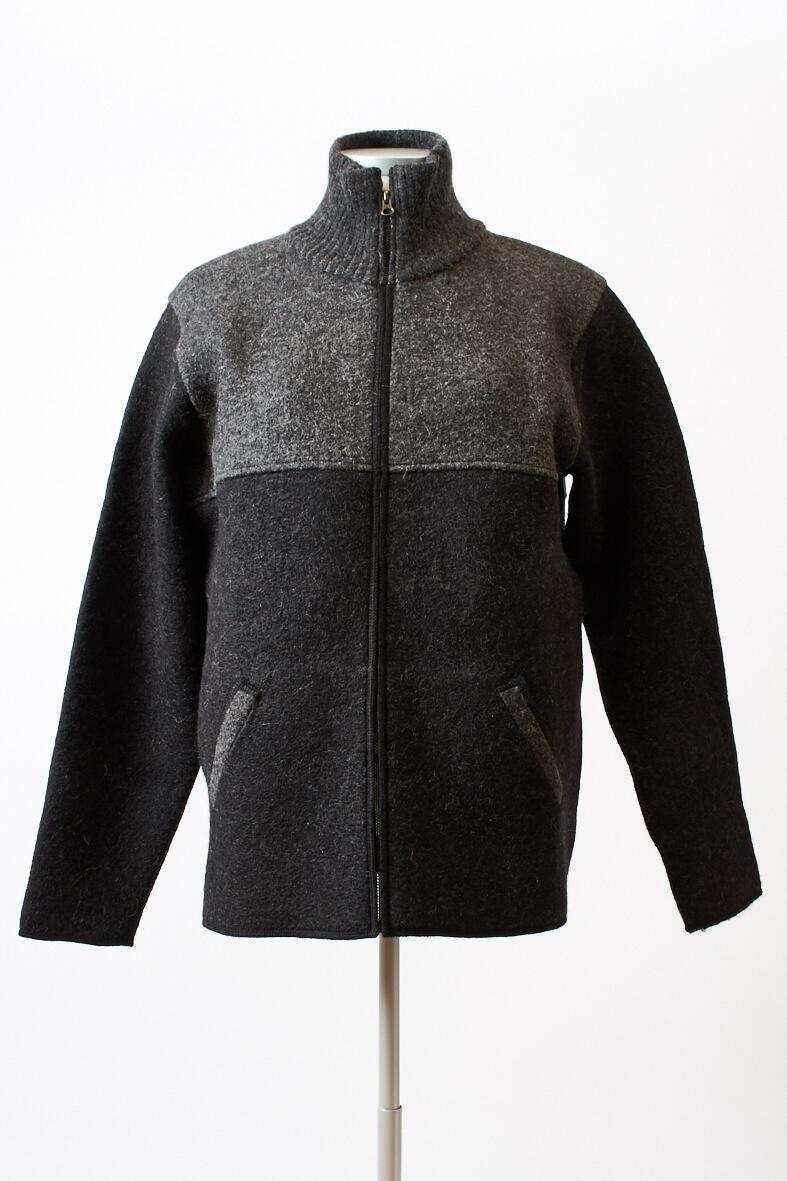 Gewalkte Jacken für Herren mit Alpaka Wolle Mein Alpaka
