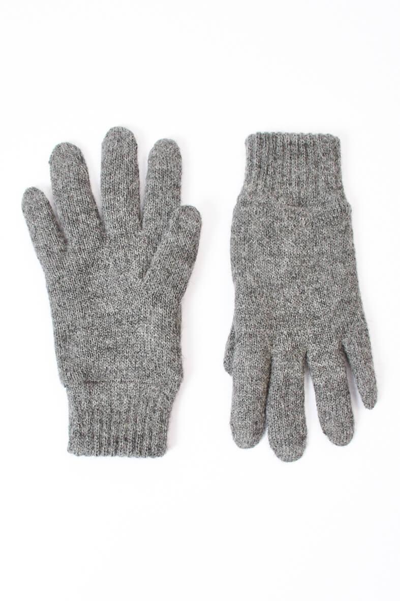 Original- Super Rabatt Größe 40 Warme Alpaka Handschuhe für Herren - Mein-Alpaka-Shop.de